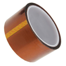 New 33m Gold Tape High Temperature Heat Polyimide Width:50Mm(China)