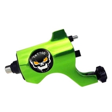 Top Selling High Quality Green Bishop Rotary Tattoo Machine For Shader Liner Fashion Permanent Makeup Machine Free Shipping