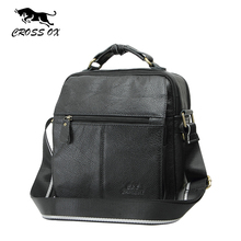 CROSS OX Genuine Leather Male Bags Vintage Men Messenger Bags Casual Men's Cross Body Shoulder Bag Men's Travel Bag bolsa SL295M