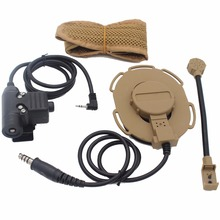 3pcs HD03 Z Tactical Bowman Elite II Headset with U94 PTT for Motorola Talkabout Cobra Radio MD200TPR MH230R MR350R MS350R T6200