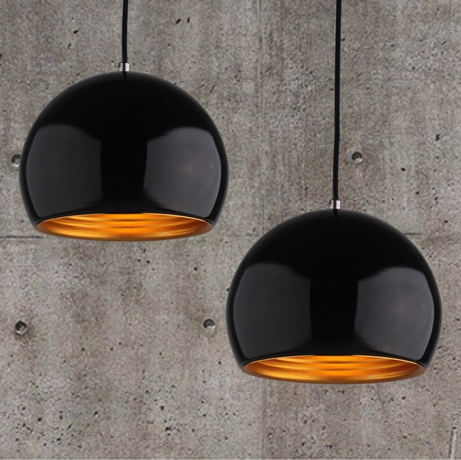 Metal Pendant Lamp Simple ball chandelier bar dining table lamp chandelier home decor<br>