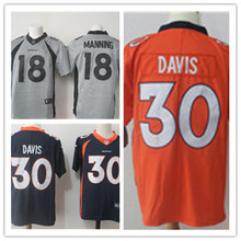 Mens 30 Terrell Davis Jersey 2017 Rush Salute to Service High Quality Football Jerseys(China)