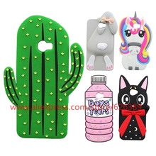 For Huawei Y5 II Case Silicone Cactus Rabbit Bunny Unicorn Pony Cat Stitch Minnie Cupcakes 3D Cases For Huawei Y5II / Y5 II 2(China)