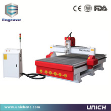 Unichcnc woodworking machine main door wood carving design cnc router 1325(China)