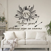 Primeval Nature Style Silhouette Patterns Bedroom Or Living Room Artistic Decal Removeable Adhesives Murals Vinyl Stickers S-584