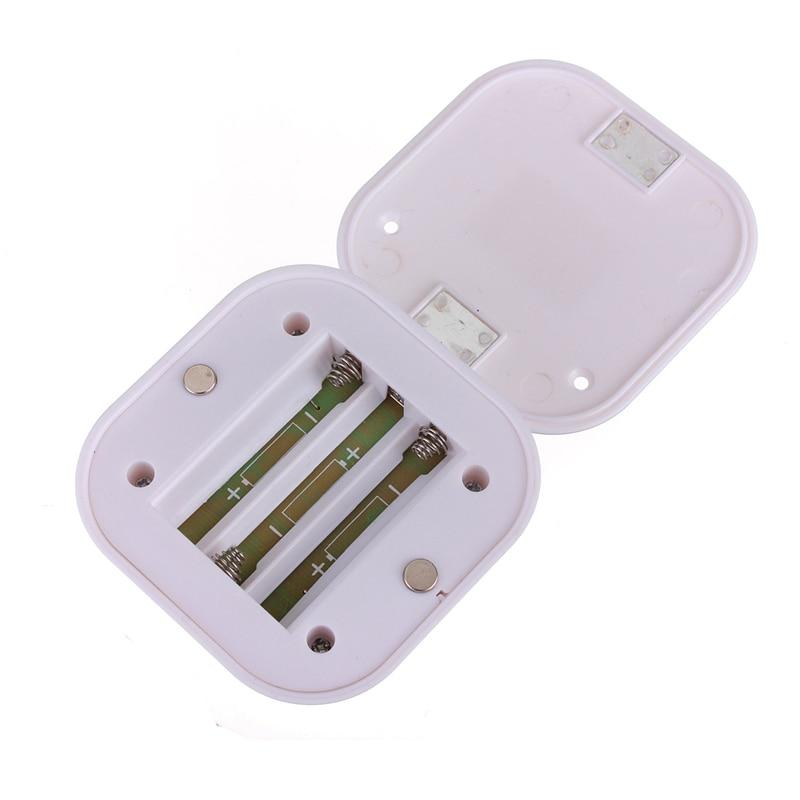 LED Mini Wireless Infrared Motion Sensor Night Light Wall Emergency Wardrobe Cabinet Night Lamp atmosphere light 6