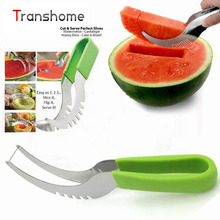 Hot Sale Stainless Steel Watermelon Slicer Corer Melon Smart  Slicer Knife For Watermelon Fruit Slicer kitchen Accessories