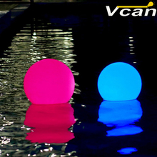 20cm Nice Super Bright Glowing Garden Ball floating swimming pool waterproof rgb Lamp Decorative Outdoor Lighting(China)