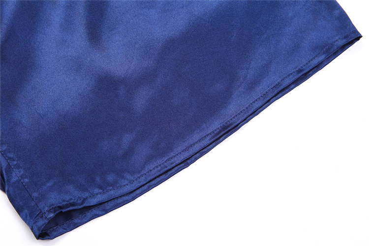 Men Sexy Silk Satin Sleep Bottoms Solid Lounge Pants Soft Pijama Short Summer Sleeping Shorts Home Pajama Pants Sleep Pants 8