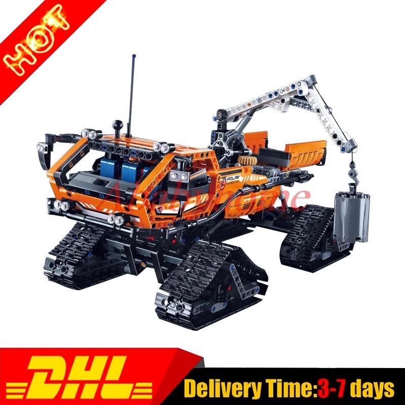 2017 Lepin 20012 Technic Series Mechanical Group The Polar Adventure Vehicle Building Blocks Bricks Toys Gifts Clone 42038<br><br>Aliexpress