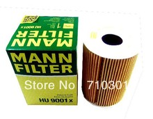 Hot sales, free shipping fee MANN oil filter HU9001X for Cayenne 4.8L