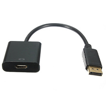 MAHA Hot HD DP Displayport Male A HDMI Female Cable Converter Adapter for Laptop HP Del