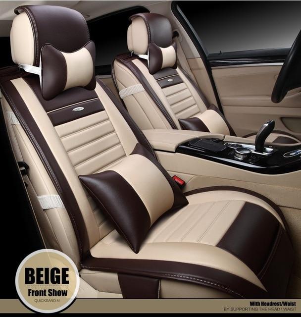 For Hyundai Accent Ix30 Ix35 Tucson SONATA ELANTRA New Brand Luxury Soft Pu Leather Car Seat