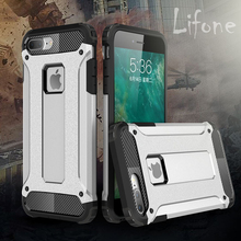 Buy Kerzzil 2 1 Hybrid Hard Tough Dual Layer Armor Case iPhone 7 6 6S Plus Soft Silicone Inner Back Cover iPhone 6 6S 7 for $2.24 in AliExpress store