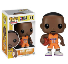 Funko POP Vinyl Figure Sports NBA Famous Star KOBE BRYANT PVC figure IN STOCK