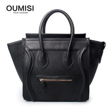 Crossbody Shoulder Tote Bag Large SIZE New Women Luxury Classic Designer  Celebrity Smile Face Smiley Handbag 1de8d41f7d
