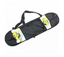 Brand New Black Skateboard Carrying Case Bag Backpack Longboard Turn Deck Skate Carry Pack