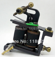 Novelty Luo's Handmade Tattoo 10 Coil Machine 1 sets Tattoo Beginner  Artist Special TM-1212 supply