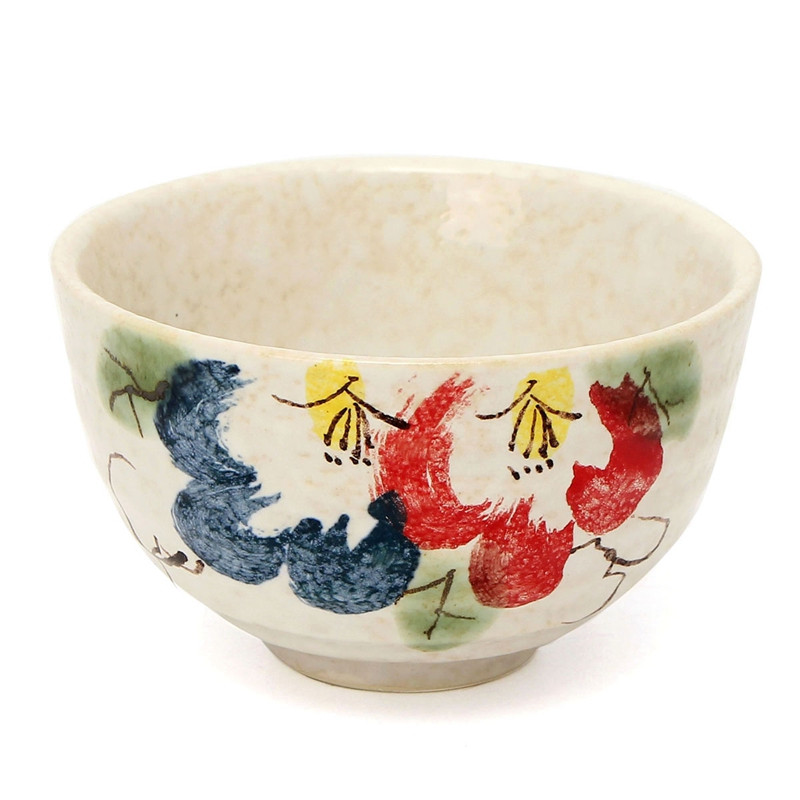 4Pcs/Set Tea Service Bamboo Natural Matcha Green Tea Powder Whisk Scoop Ceramic Bowl Set Japanese Teaware Ceremony 3