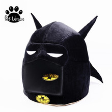 Batman Shape Dog House Pet Dog Bed Cat Bed House For Small Medium Dog Warm Pet Puppy Bed Chihuahua Totoro Bed Dog Mat Cat Kennel(China)