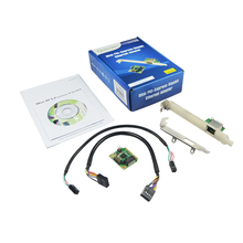 IOCrest Good Quality Mini PCI-Express PCIe Gigabit Ethernet Network Interface Adapter 10/100/100M NIC Card Best Price