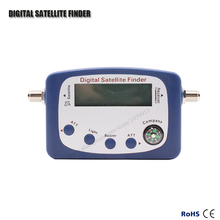 SF-9505A Hd Digital Satellite Finder For Satellite TV Reciever With LCD Display Satellite Meter With Compass Support DVB2/DVBS(China)