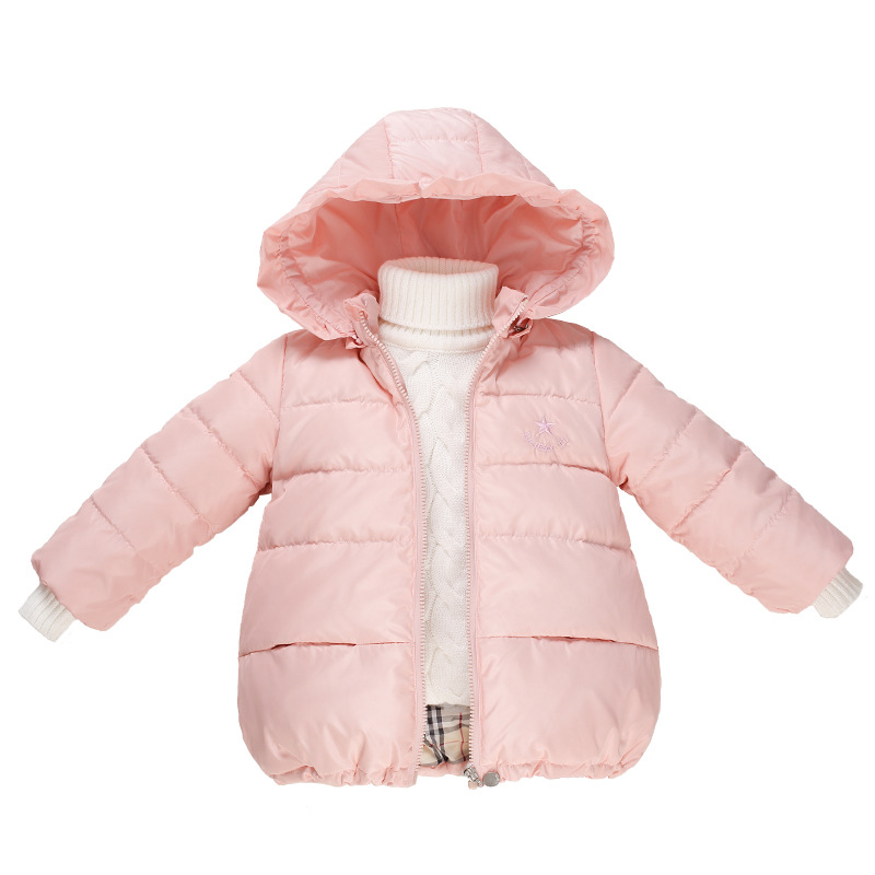 Childrens clothing girls winter cotton-padded jacket down cotton wadded jacket thickening girls thicken Hooded coatОдежда и ак�е��уары<br><br><br>Aliexpress