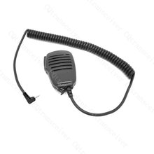 PTT Microphone Speaker W/  Earpiece Jack for Cobra radio LI3900 LI4900 LI5600 LI6000 LI6500 LI6700 LI7000 LI7500 MRHH100 MRHH200