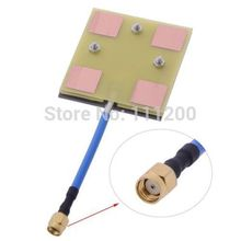 FPV Panel/Patch High Gain 5.8 GHz 14DBi Video/Audio Receiver Antenna for Long Range