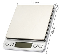 Buy 500g x 0.01g Portable Mini Electronic Digital Scales Pocket Case Postal Kitchen Jewelry Weight Balanca Digital Scale for $9.89 in AliExpress store