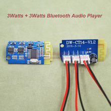 1pcs/lot 3W + 3W Bluetooth Audio Player Power Amplifier 3V~5V Supply Voltage Double 8002  Module Board PCB Audio Power Amplifier