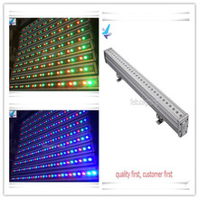 A-6PCS RGB 30x3w ip 65 high power led wall washer LCD display(China)