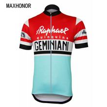 red and blue cycling jersey cycling clothing Italia Cycling Mountain bike racing riding wear short-sleeved road(China)