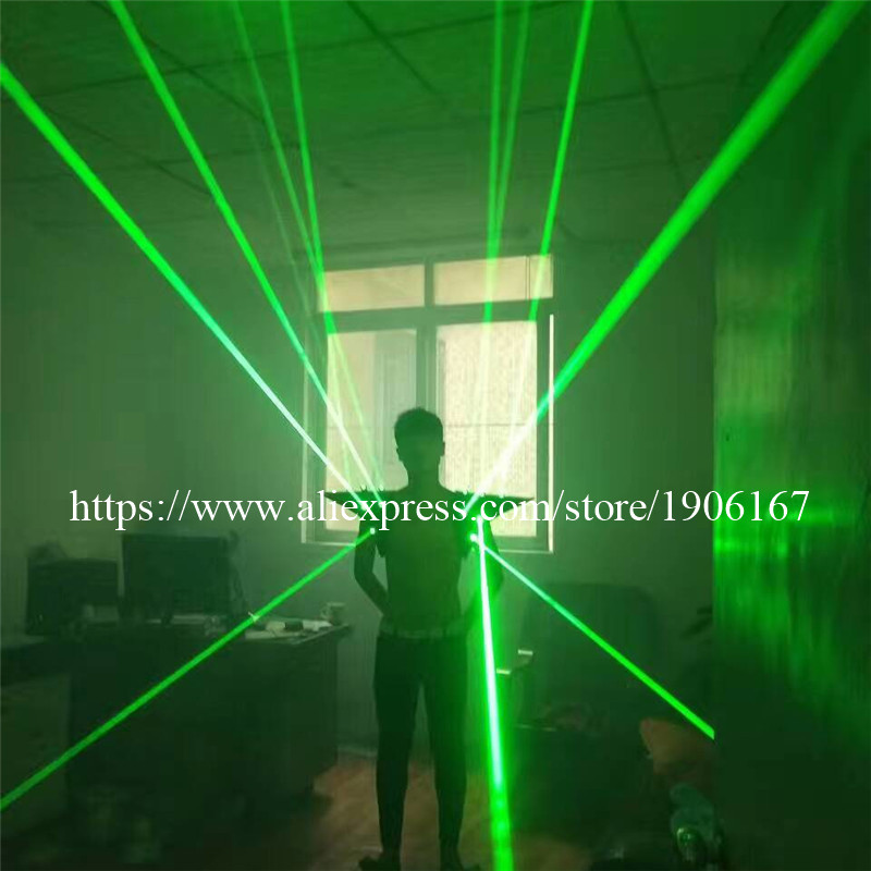 Fashion Red color men Laser vest Costumes cloth suit LED laser bar party props performing luminous clothing dj disco dress show06