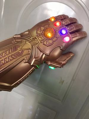 Thanos Cosplay Mask & Gauntlet Take Control of Your Infinity Saga Universe 15