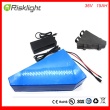 US EU Free Tax Frame type 36V 15Ah triangle E-bike battery 36Volts Lithium ion battery for 500W Electric Bicycle