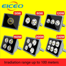 (EICEO) LED Flood Light Outdoor Lighting Reflector Lights Projector Spotlight Lamp Project Lamps AC85-265V IP65 50W 100W 160W(China)