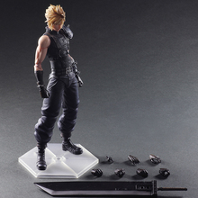 26cm Final Fantasy VII 7 Variant NO.1 Cloud Strife Figure Variable Cloud Strife PVC Action Figure Toy Brinquedos(China)