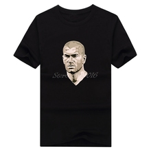 Men France 10 5 Zinedine Yazid Zidane zizou Real T-shirt Clothes T Shirt Men's for Madrid fans gift o-neck tee W0319011