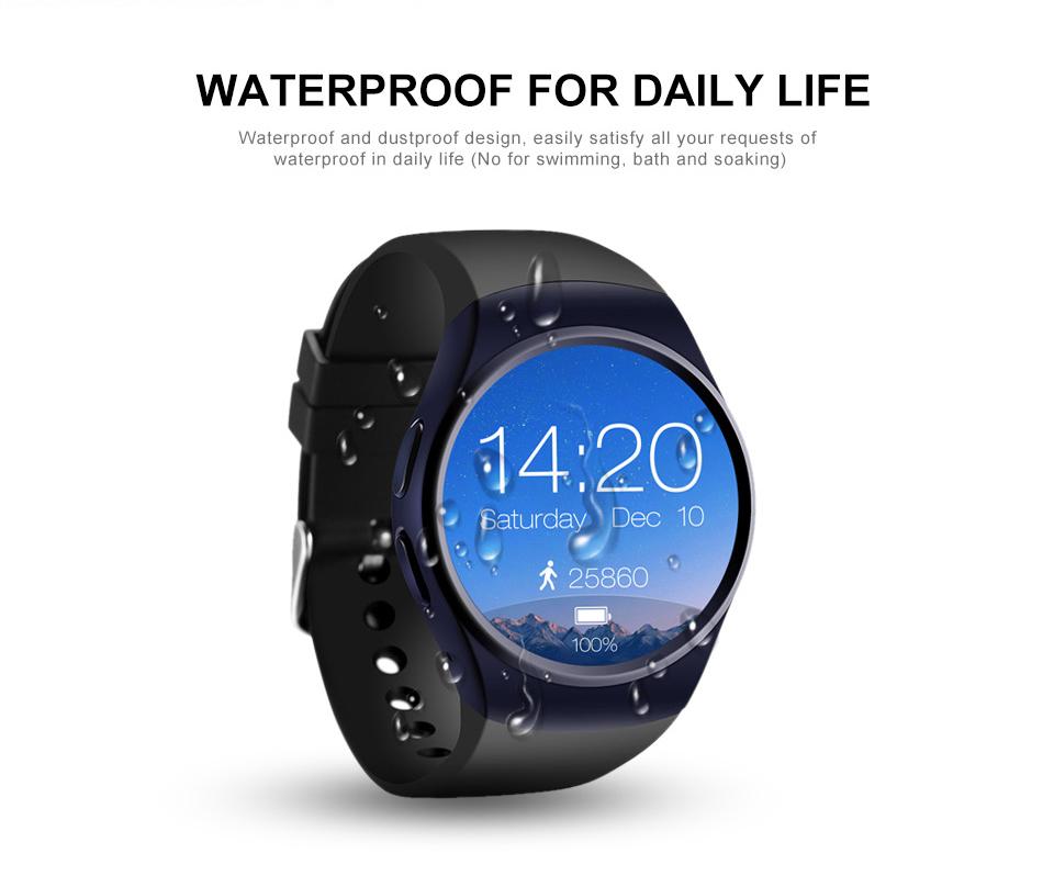 LF18 Bluetooth Smart Watch Phone Full Screen Support SIM TF Card Smartwatch Heart Rate_13