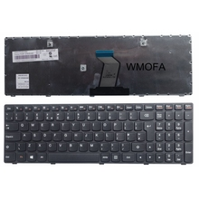 UK New laptop keyboard For LENOVO G500 G510 G505 G700 G710 G500A G505A G510 G700A G710A G500AM G700AT(China)