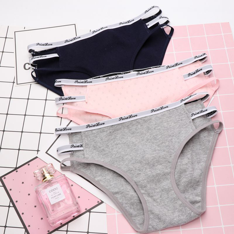 SP&CITY Modern Design Cotton Seamless Briefs Thong Simple Style Sexy Soft Underwear Lingerie Women Cute Pink Panties Sex String