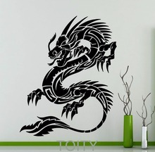 Orient Dragon Wall Sticker Mythology Vinyl Decal Chinese Style Long Home Interior Design Art Murals Living Room Decor