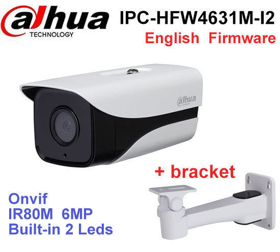 Dahua 6MP POE IP Camera IPC-HFW4631M-I2 IP67 IR 80M H.265 WDR ONVIF Outdoor came
