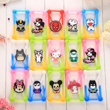 Cartoon Mickey Kitty Batman silicone Universal case cover for iphone/Samsung/LG/Nokia/Sony/Alcatel/HTC/Huawei/Xiaomi/Wiko 3.5-6""