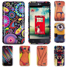 bag case for LG L70 .real Rushed TPU Case Gel Rubber Skin Back Cover for LG L70