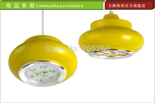 3 Pieces / lot,Gourd Candy 9W LED AC110V-220V ceiling lamp pendant lamp Dining Table bar lights ,5 Colors, FREE SHIPPING
