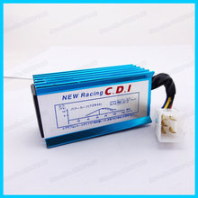 Blue Racing AC CDI Box 5 pins For 50cc 110cc 125cc Quad ATV motorcycle Pit Dirt Bikes Moped Scooter Go Karts(China)