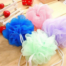 Thicker heavier Beautiful package bath ball bath companion showers /bath flower / sponge mesh bath ball site
