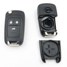 Key Shell For OPEL VAUXHALL Insignia Astra 3Button Flip Fob Key Shell Case Remote HU100 Blade Auto Replacement Part For Opel Key